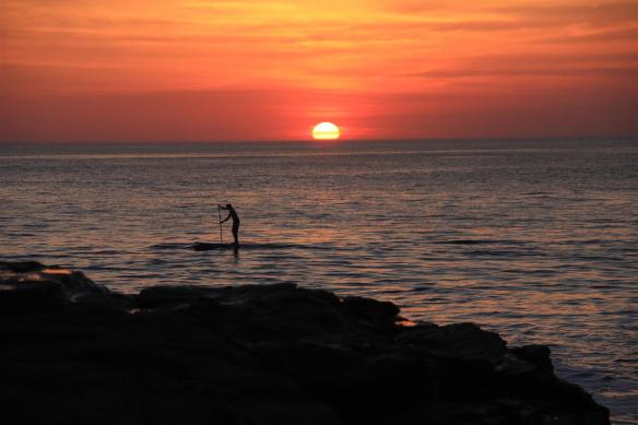 What's SUP sunset session. Photo: Rosary Walsh
