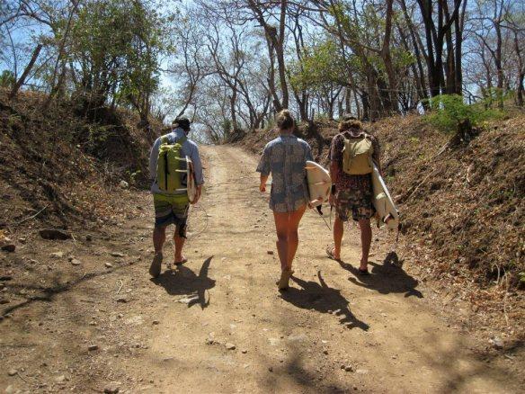 ...more walking. Photo: Rosary Walsh