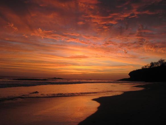 Sunset session. Photo: Rosary Walsh