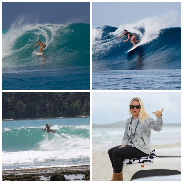 Shannon Joy Armstrong: With a love of all thing oceanic, this Ozzie water baby shreds!!