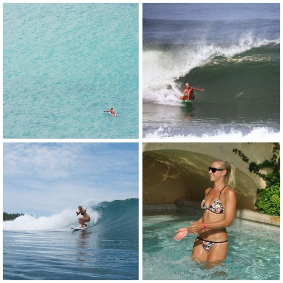 Sarah Desmet: This beautiful, gentle character has a heart of gold and the look of a surf goddess