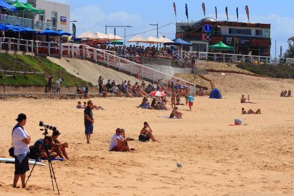Surfest spectators