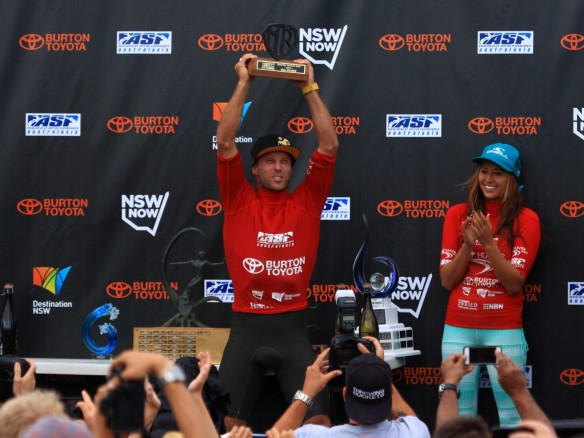 Nathan Hedge...stoked on his Second Place MR Trophy