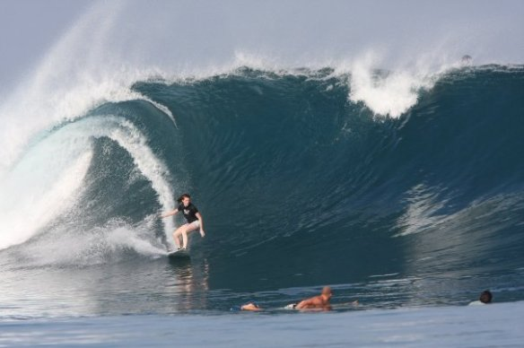 SaltyLips Rosary Walsh Surfing Indonesia 4