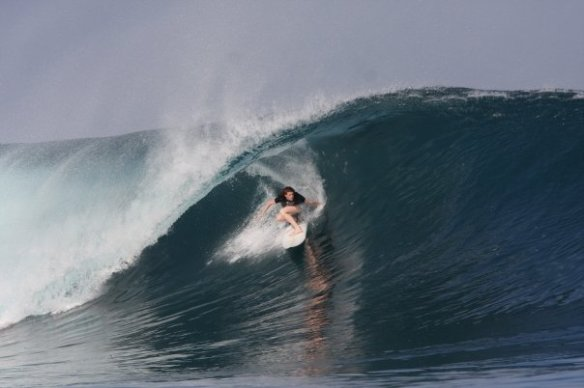 SaltyLips Rosary Walsh Surfing Indonesia 7