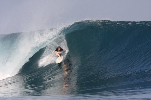 SaltyLips Rosary Walsh Surfing Indonesia 8
