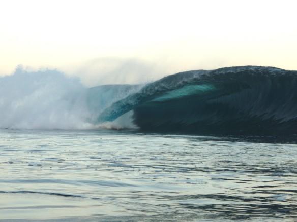 SaltyLips Georgia Surf Sumbawa Indonesia
