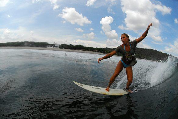 SaltyLips India Reinartz surf Nicaragua Salty Lips